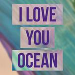 I love the ocean by Veronica Diament