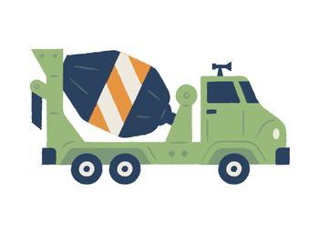 Let's Go Cement Truck