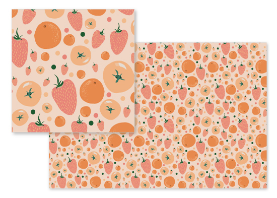 fabric - Fruity by Erica Marquis