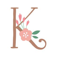 Botanical Alphabet K
