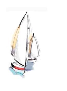 Sketch Sailboat