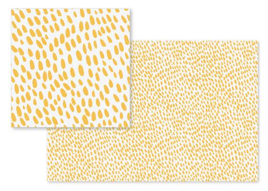 fabric - Sunshine dots by Alexandra Dzh