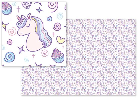 fabric - Sweet Unicorn Dreams by Jasmine Mills
