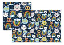 Kitty Kat Rainbows by Jime