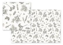 Evergreen Sprigs by Littlepatterns