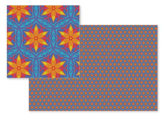 fabric - Six flower burst by raven erebus
