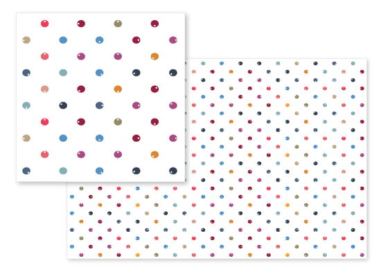 fabric - dotted dots by Leanne Friedberg