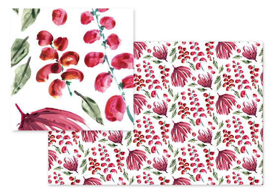 fabric - Floral Extravaganza by Rosana Laiz · Blursbyai