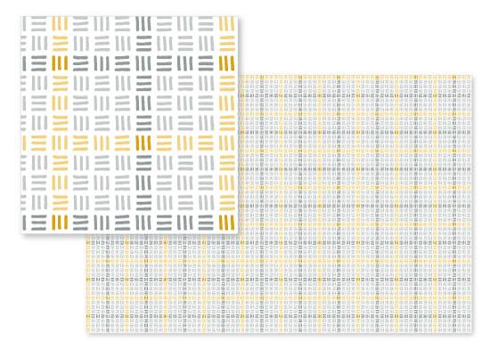 fabric - Matchstick Plaid by Gigi and Mae Studios