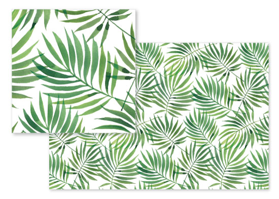 fabric - Palm Leaves by Four Wet Feet Studio