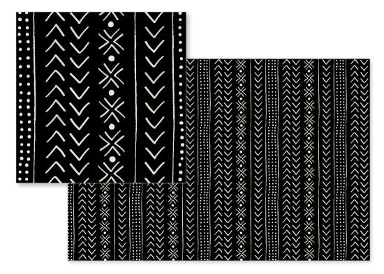 fabric - mud cloth organic by Erin Deegan