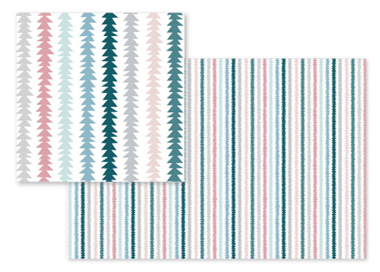 fabric - Bohemian Stripes by Tiffany Wong