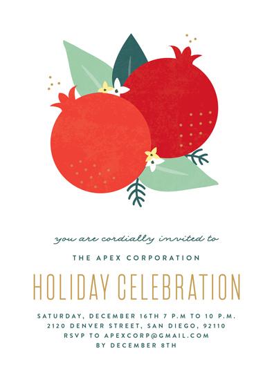 party invitations - Fruitful Season by Erica Krystek