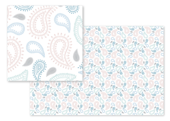 fabric - Pretty Paisley by Tiffany Wong