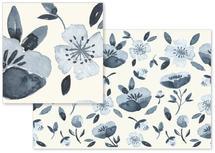 Blue Mood Bloom by Afton Harding