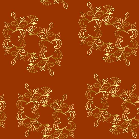 fabric - Royal by Carmelle Jolin