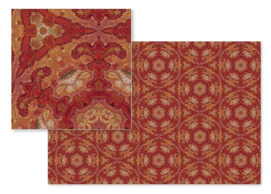 fabric - Fleur de Hex by OlafOriginals