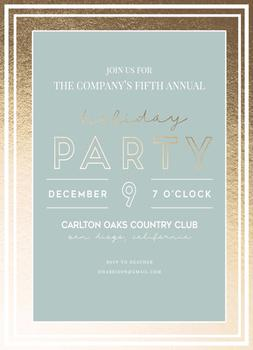 Annual Company Holiday Party