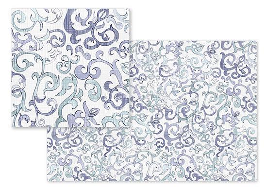 fabric - Hand Arabesque by Heidy Garay