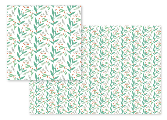 fabric - Springtime 5 Meadow Spray by curiouszhi design
