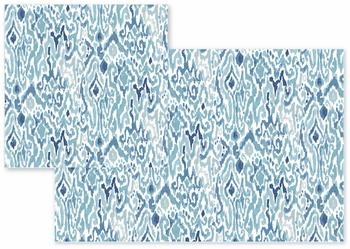 Hand-Painted Ikat