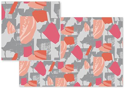 fabric - Textural Geos by Miriam Flower