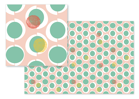 fabric - Sherbert + Bonbons by See Three Studios