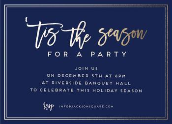 Tis the season for a party