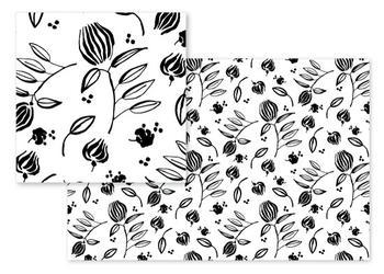 Ink Line Floral