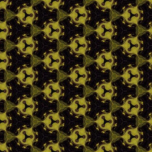 fabric - nuclear by Zhea Zarecor
