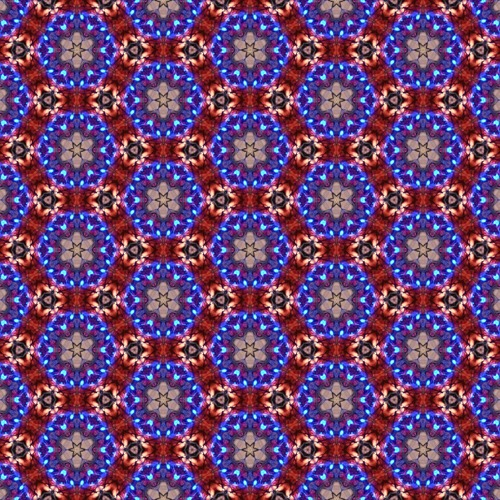 fabric - blue Christmas by Zhea Zarecor