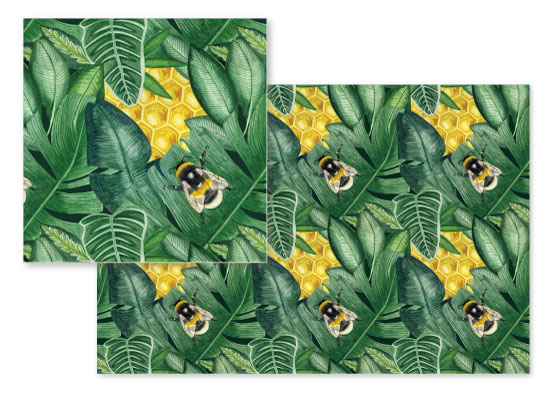 fabric - Hidden Honeycomb by Jessamy Bridgewater
