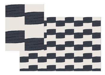 Off-Set Wide Stripe