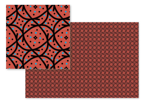 fabric - Swirly Q by Evie Kristen