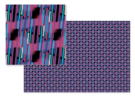 fabric - Purple Sparklers by Evie Kristen