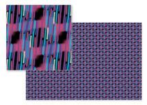 Purple Sparklers by Evie Kristen