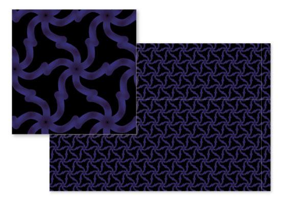 fabric - Spiral Triangles by Evie Kristen