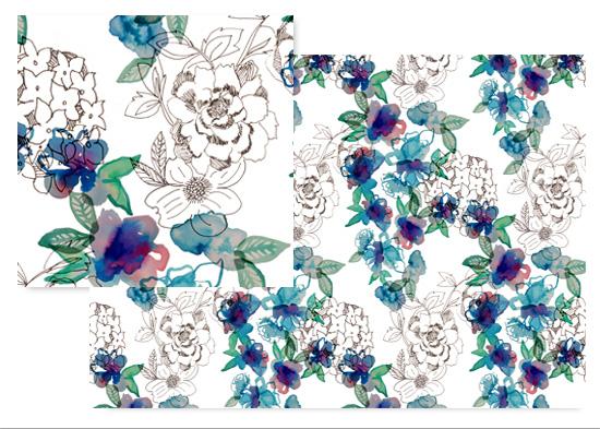 fabric - June Bloom by Hopie Marie