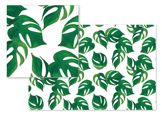 fabric - Palm Breeze by Jaclyn Wood