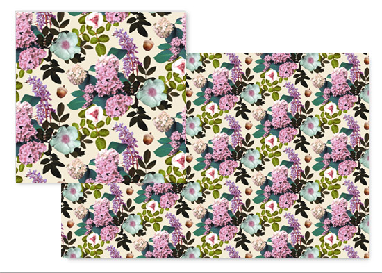 fabric - Woodland Botanical by Hopie Marie