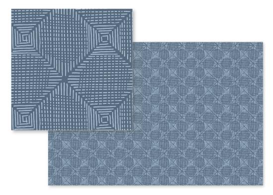 fabric - Geostitch by Ariel Rutland