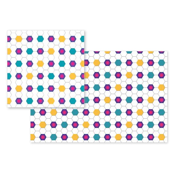 fabric - colorful_tiles by JEONGKYUN AHN