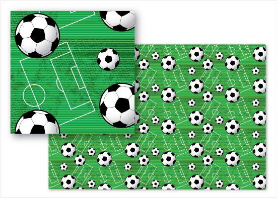 fabric - Soccer Dream by Cindy Taylor