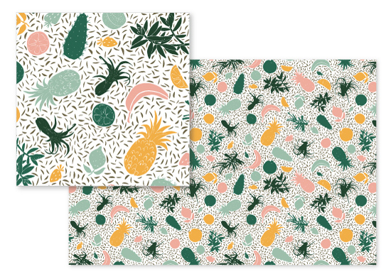 fabric - Fruity Fiesta by Isabel Knez