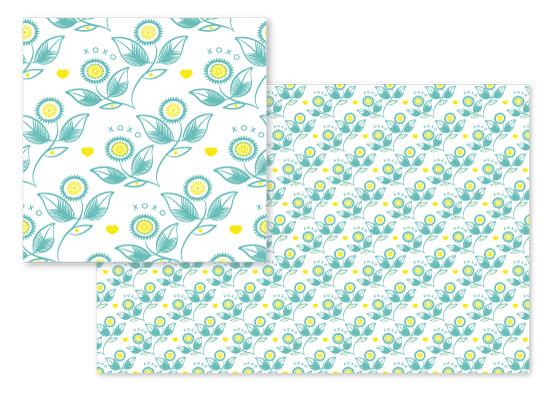 fabric - xoxo flora by jkookie