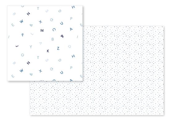 fabric - Alphabet Soup by SylvieCeres Designs