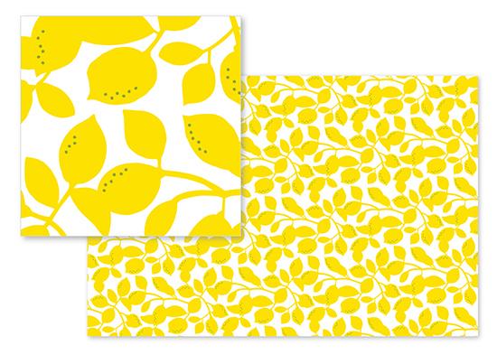 fabric - Lemons by Genna Cowsert