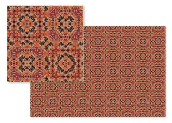 fabric - Patina Squares by OlafOriginals