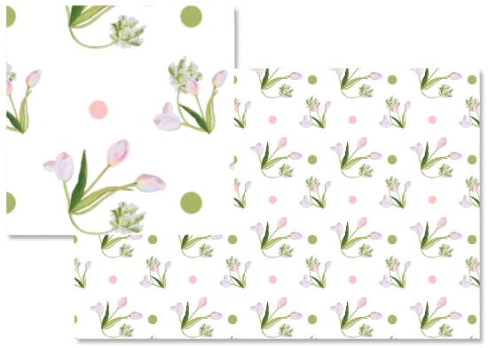 fabric - Baby tulip by Reka Lena