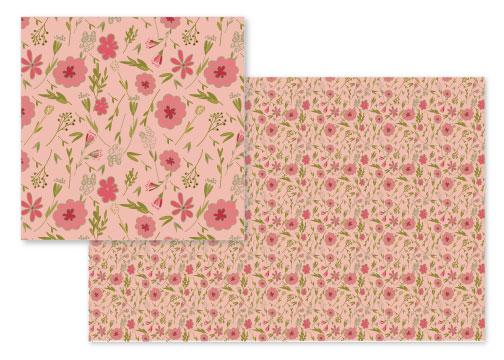 fabric - bountiful by frances